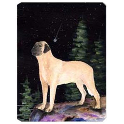Carolines Treasures SS8505MP Starry Night Anatolian Shepherd Mouse Pad