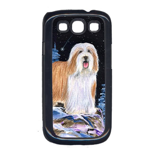 Carolines Treasures SS8451GALAXYSIII Starry Night Bearded Collie Cell Phone Cover Galaxy S111