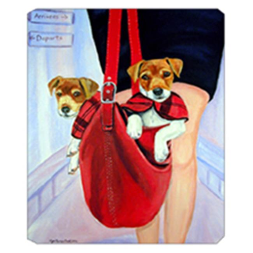 Carolines Treasures 7251MP 8 x 9.5 in. Jack Russell Terrier Mouse Pad Hot Pad or Trivet