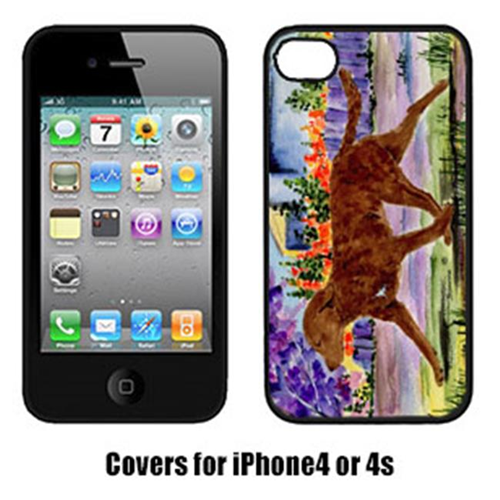 Carolines Treasures SS8435IP4 Chesapeake Bay Retriever Cell Phone Cover Iphone 4