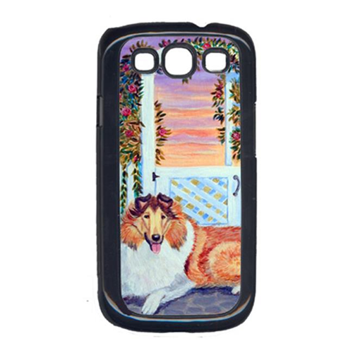 Carolines Treasures 7147GALAXYSIII Collie Cell Phone Cover For Galaxy S111