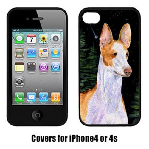 Carolines Treasures SS8495IP4 Starry Night Ibizan Hound Iphone4 Cover
