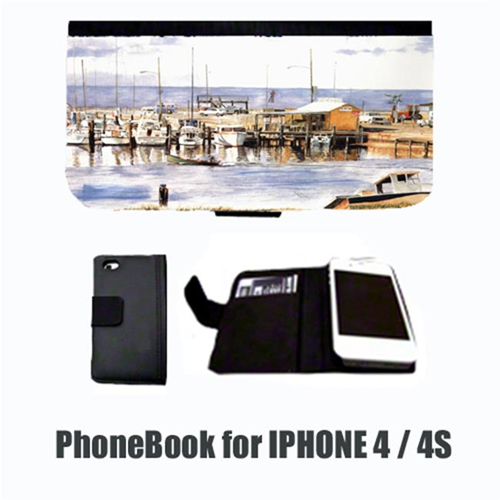 Carolines Treasures 1006-NBIP4 Pass Bait Shop Cell Phonebook Cell Phone case Cover for IPHONE 4 or 4S