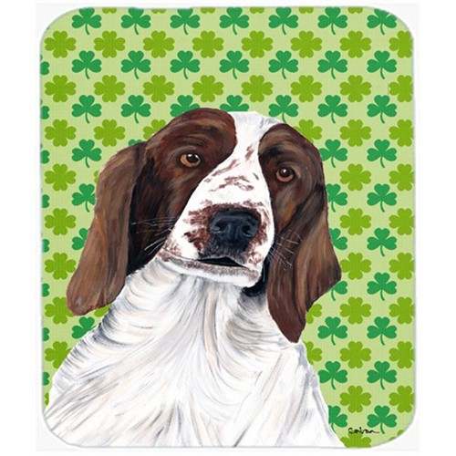 Carolines Treasures SC9300MP Welsh Springer Spaniel St. Patricks Day Shamrock Mouse Pad Hot Pad or Trivet
