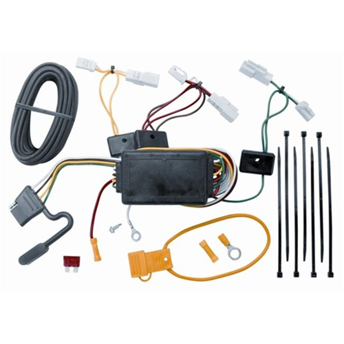 Tow Ready 118405 T-One Connector Assembly With Circuit Protected Modulite Module 3.98 x 5.63 x 9 in.