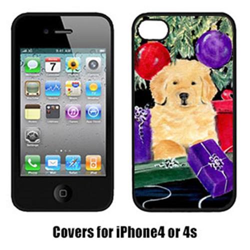 Carolines Treasures SS8581IP4 Golden Retriever Iphone4 Cover
