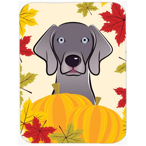 Carolines Treasures BB2037MP Weimaraner Thanksgiving Mouse Pad Hot Pad or Trivet