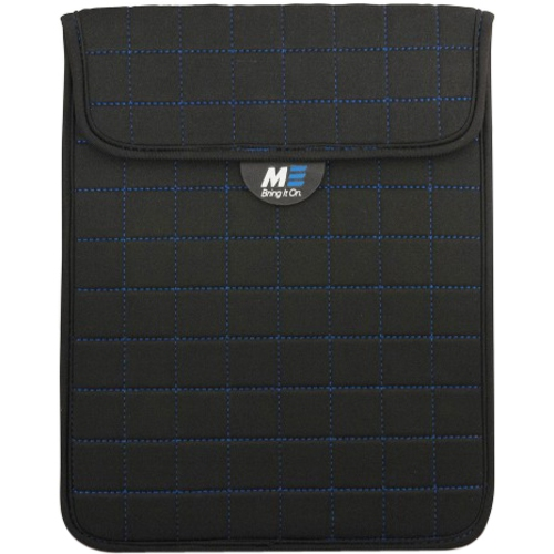 Mobile Edge MESST1103 NeoGrid Sleeve for iPad and 10 in. Tablets - Black-Blue Stitching