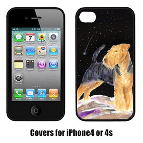 Carolines Treasures SS8464IP4 Starry Night Welsh Terrier Cell Phone Cover Iphone 4