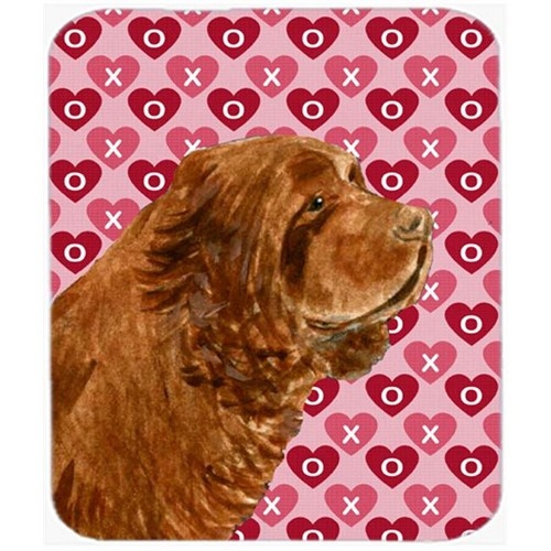 Carolines Treasures SS4510MP Sussex Spaniel Hearts Love And Valentines Day Mouse Pad Hot Pad Or Trivet