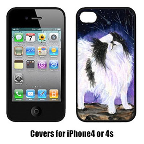Carolines Treasures SS8070IP4 Japanese Chin Iphone 4 Cover
