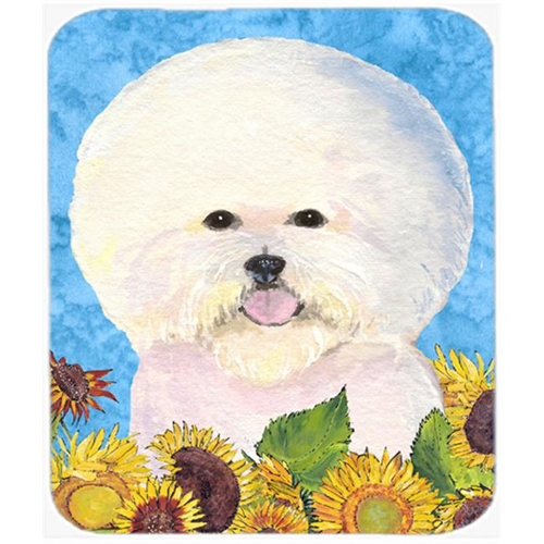 Carolines Treasures SS4160MP Bichon Frise Mouse Pad Hot Pad or Trivet