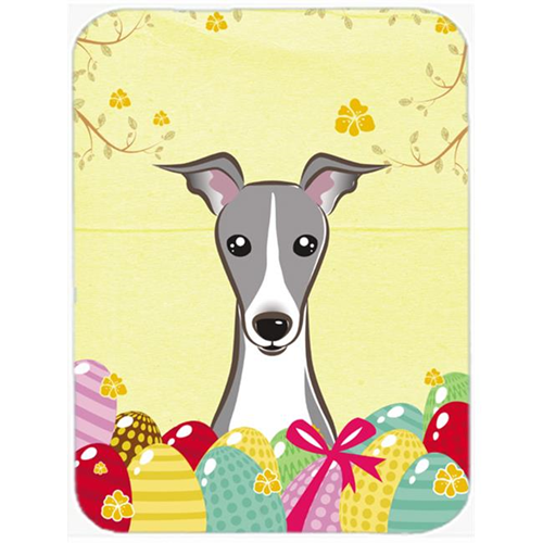Carolines Treasures BB1918MP Italian Greyhound Easter Egg Hunt Mouse Pad Hot Pad or Trivet