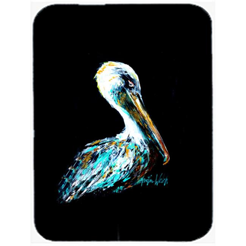Carolines Treasures MW1195MP Dressed In Black Pelican Mouse Pad Hot Pad & Trivet