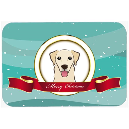 Carolines Treasures BB1562MP Golden Retriever Merry Christmas Mouse Pad Hot Pad & Trivet