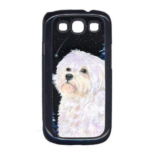 Carolines Treasures SS8461GALAXYSIII Starry Night Maltese Cell Phone Cover Galaxy S111