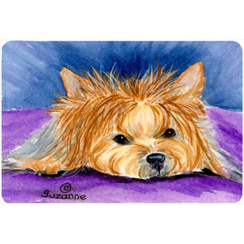 Carolines Treasures SS8749MP Yorkie Mouse pad hot pad or trivet