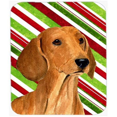 Carolines Treasures SS4556MP Dachshund Candy Cane Holiday Christmas Mouse Pad Hot Pad Or Trivet