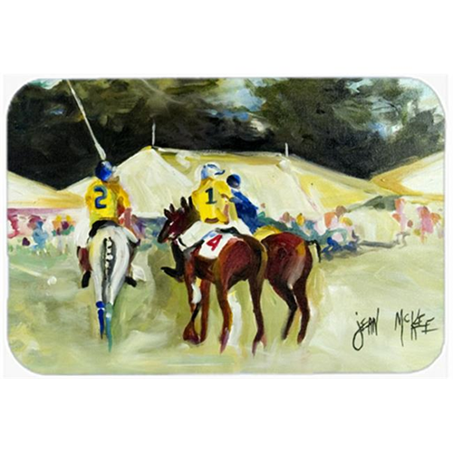 Carolines Treasures JMK1006MP Polo At The Point Mouse Pad Hot Pad & Trivet