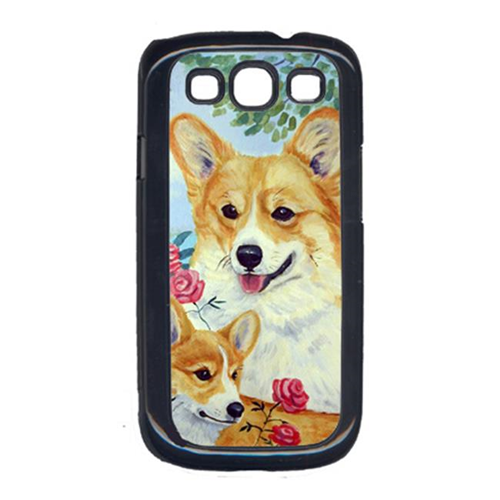 Carolines Treasures 7084GALAXYSIII Corgi Momma s Love and Roses Cell Phone Cover Galaxy S111