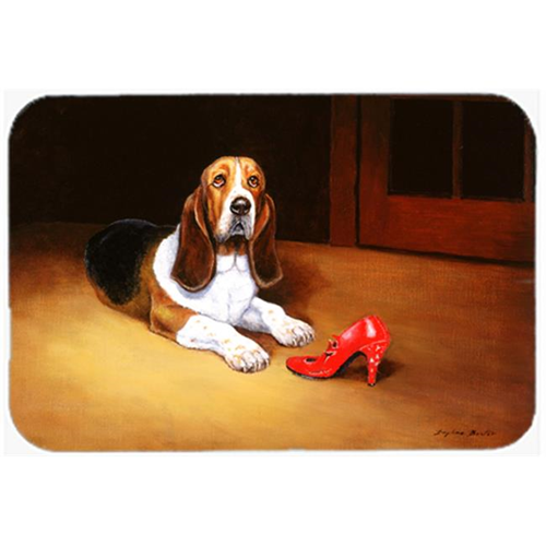 Carolines Treasures BDBA0372MP Basset & Shoe Mouse Pad Hot Pad or Trivet