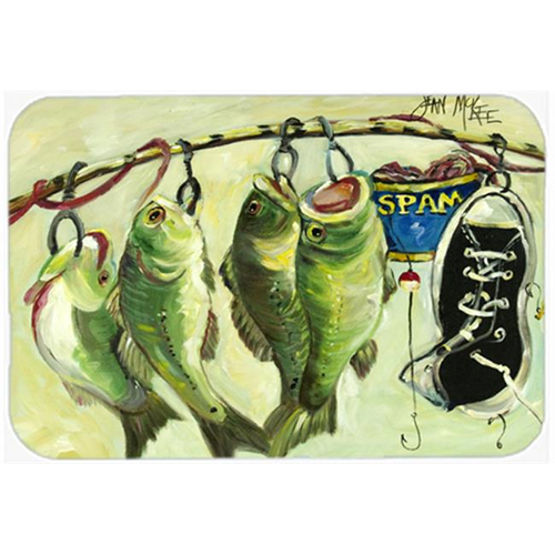 Carolines Treasures JMK1113MP Recession Food Fish Caught With Spam Mouse Pad Hot Pad & Trivet