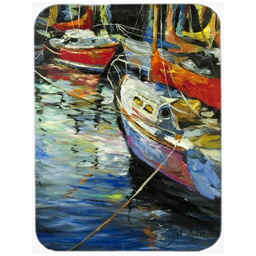Carolines Treasures JMK1164MP Boat Talk Sailboats Mouse Pad Hot Pad & Trivet