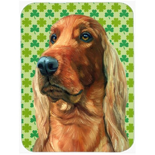 Carolines Treasures LH9569MP Irish Setter St. Patricks Day Shamrock Mouse Pad Hot Pad & Trivet