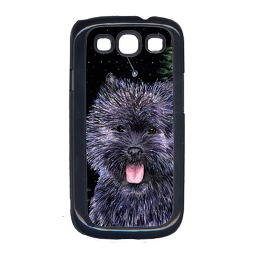 Carolines Treasures SS8494GALAXYSIII Starry Night Cairn Terrier Cell Phone Cover For Galaxy S111