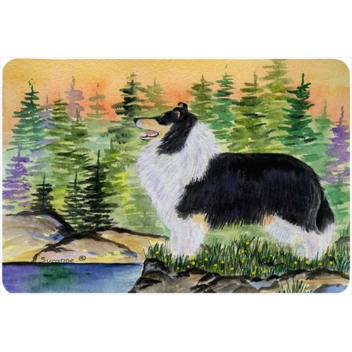 Carolines Treasures SS8203MP Collie Mouse Pad Hot Pad Or Trivet