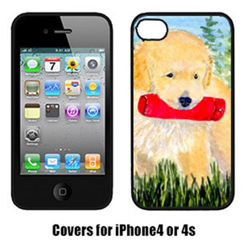 Carolines Treasures SS8858IP4 Golden Retriever Cell Phone Cover Iphone4