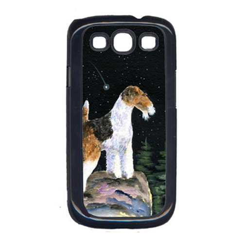 Carolines Treasures SS8500GALAXYSIII Starry Night Fox Terrier Galaxy S111 Cell Phone Cover