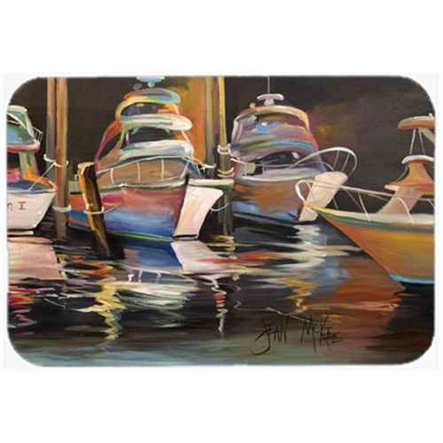 Carolines Treasures JMK1076MP Sea Chase Deep Sea Fishing Boats Mouse Pad Hot Pad & Trivet