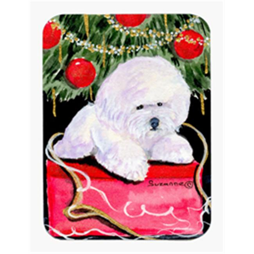 Carolines Treasures SS8957MP Christmas Tree with Bichon Frise Mouse Pad & Hot Pad & Trivet