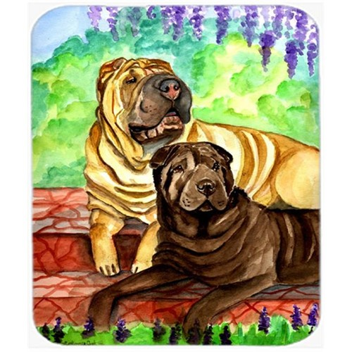 Carolines Treasures 7070MP 9.5 x 8 in. Shar Pei Patio Peis Mouse Pad Hot Pad or Trivet