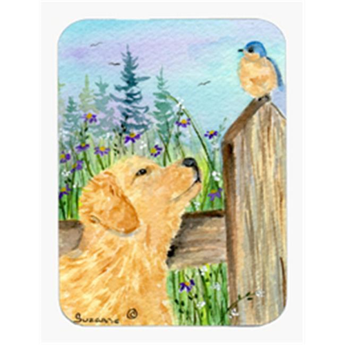 Carolines Treasures SS8883MP Golden Retriever Mouse Pad & Hot Pad & Trivet