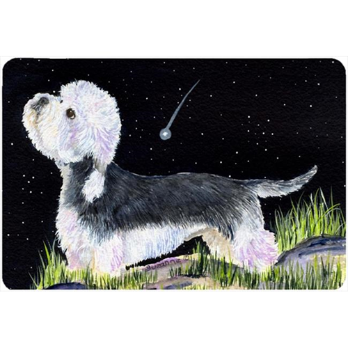 Carolines Treasures SS8486MP Starry Night Dandie Dinmont Terrier Mouse Pad Hot Pad Or Trivet