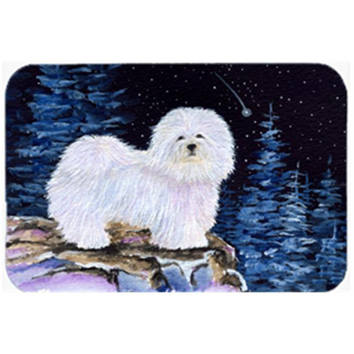 Carolines Treasures SS8437MP Starry Night Coton De Tulear Mouse Pad