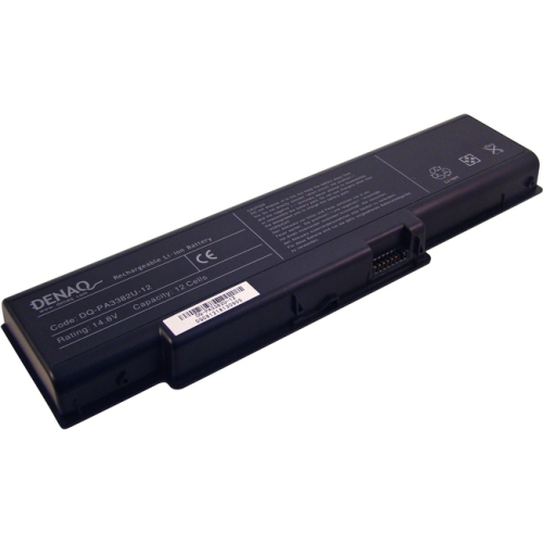 Denaq DQ-PA3399U-9 High Capacity Battery for Toshiba Satellite M55-S325 Laptops- 6600mAh