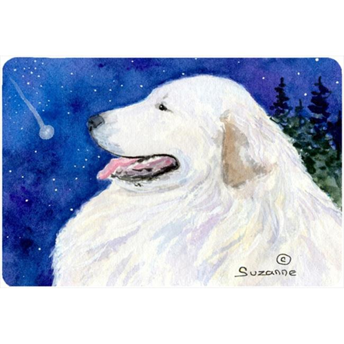 Carolines Treasures SS8774MP Great Pyrenees Mouse pad hot pad or trivet