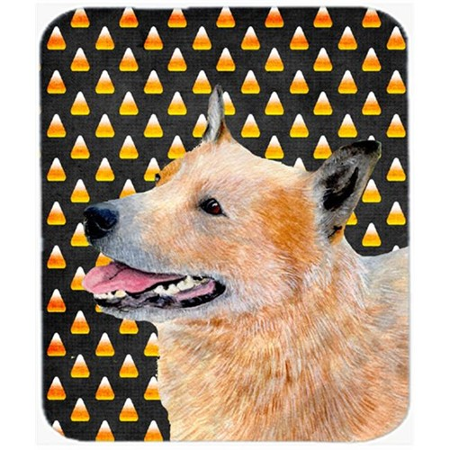 Carolines Treasures LH9058MP Australian Cattle Dog Candy Corn Halloween Mouse Pad Hot Pad or Trivet