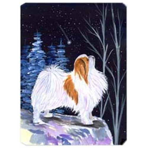 Carolines Treasures SS8363MP Starry Night Japanese Chin Mouse Pad
