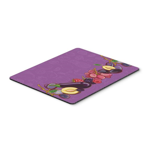 Carolines Treasures BB5132MP Fruits & Vegetables in Purple Mouse Pad Hot Pad or Trivet