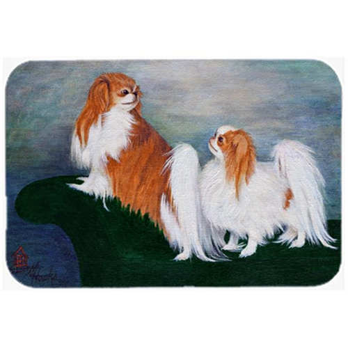 Carolines Treasures MH1059MP Japanese Chin Standing On My Tail Mouse Pad Hot Pad & Trivet