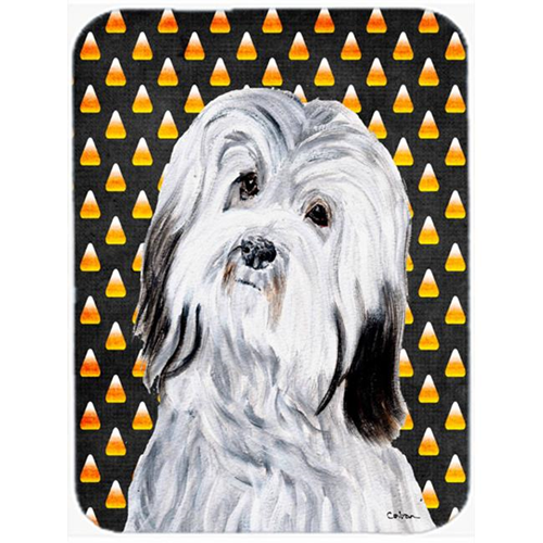 Carolines Treasures SC9665MP Havanese Candy Corn Halloween Mouse Pad Hot Pad Or Trivet 7.75 x 9.25 In.
