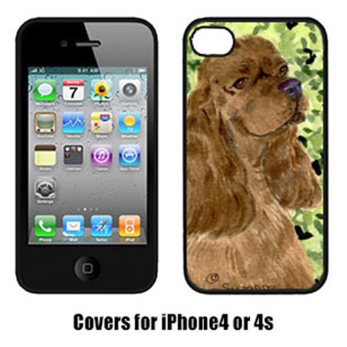 Carolines Treasures SS8807IP4 Cocker Spaniel Iphone4 Cover