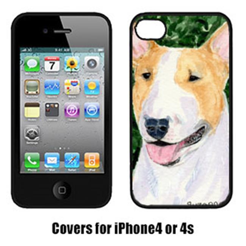 Carolines Treasures SS8873IP4 Bull Terrier Cell Phone Cover Iphone4