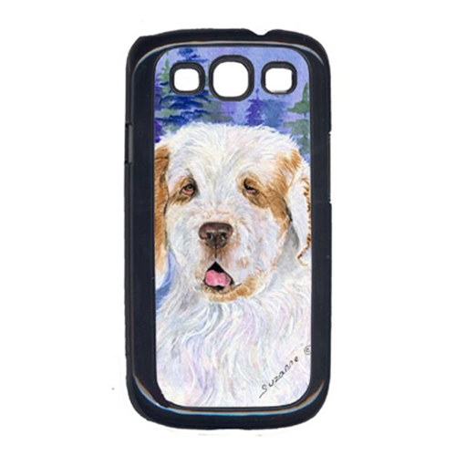Carolines Treasures SS8008GALAXYSIII Clumber Spaniel Cell Phone Cover For Galaxy S111