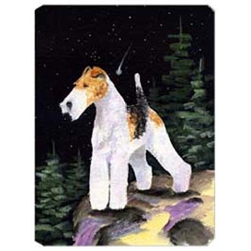 Carolines Treasures SS8503MP Starry Night Fox Terrier Mouse Pad