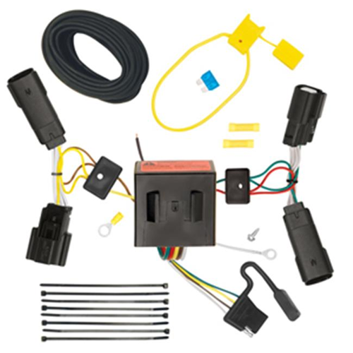 Tow Ready 118566 T-One Connector Assembly With Upgraded Circuit Protected Modulite HD Module 4 x 3.90 x 8.90 in.